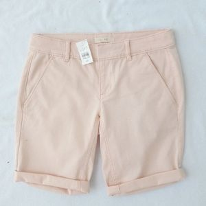 LOFT BERMUDA ROLL SHORTS NEW!